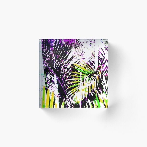 Palms Design #14 Acrylic Block