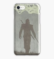The Witcher Game Poster iPhone Case/Skin