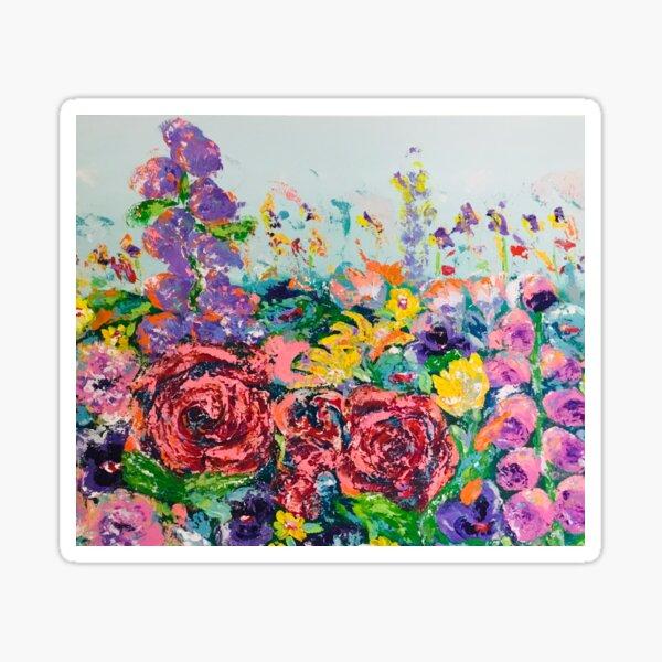 Flowers Galore Sticker
