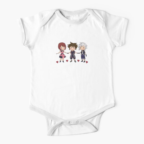 Kingdom Hearts Best Friends Forever Short Sleeve Baby One-Piece