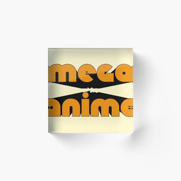 MEGA ANIME Acrylic Block