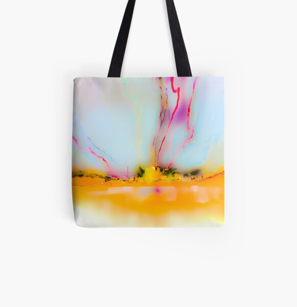 Aurora Megalopolis Blue 3 All Over Print Tote Bag