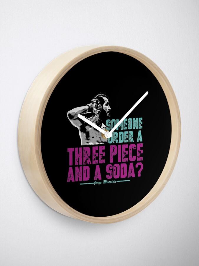 Alternative Ansicht von Jorge Masvidal - Drei Stücke Und Ein Soda Uhr