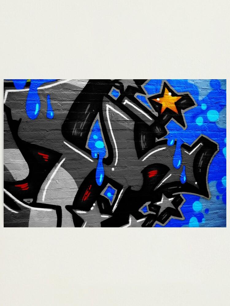 Alternate view of Graffiti 3 Photographic Print