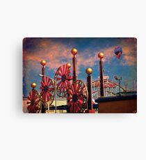 Luna Park, Brooklyn, New York Canvas Print
