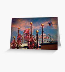 Luna Park, Brooklyn, New York Greeting Card