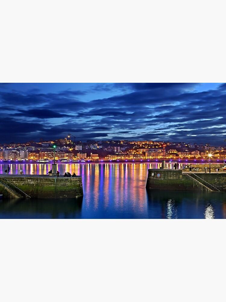 El puerto de San Sebastián (Donostia) de Cretense72