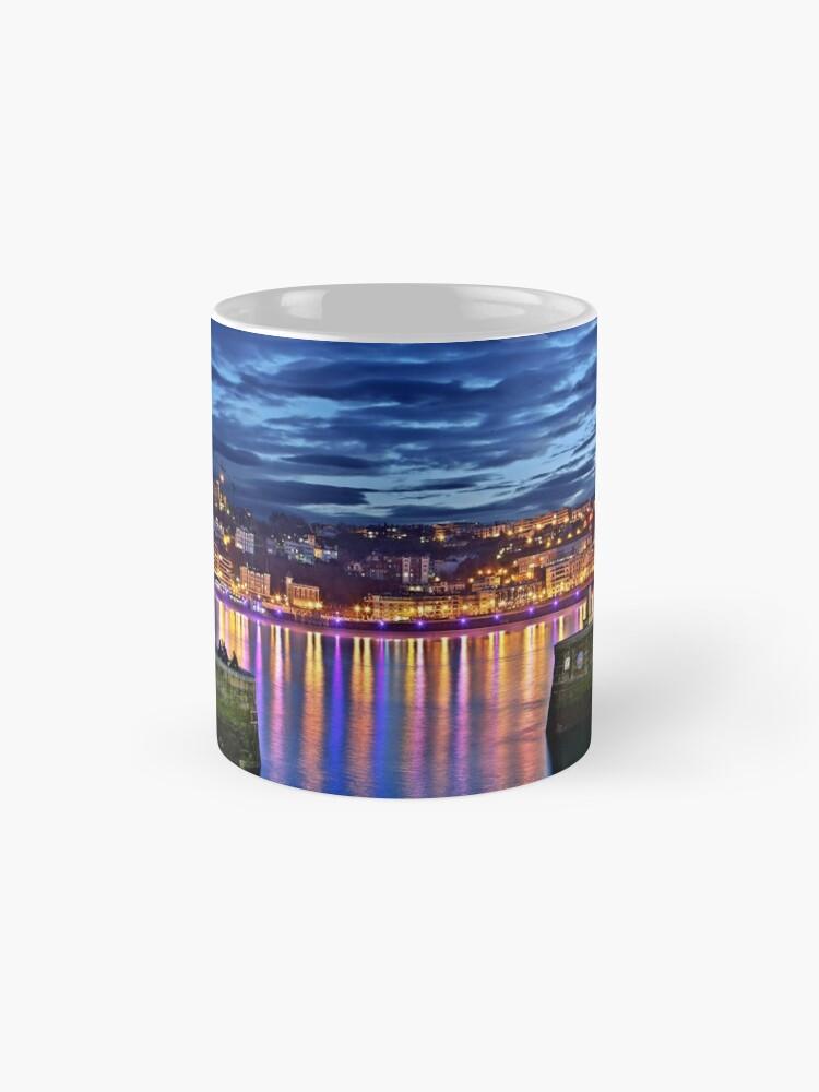 Vista alternativa de Tazas El puerto de San Sebastián (Donostia)
