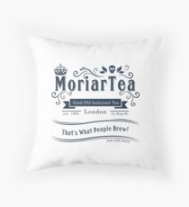 MoriarTea 2014 Edition Throw Pillow
