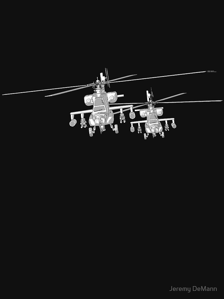 Apache AH-64a 3D Model Toon Render by uniqueCharacter