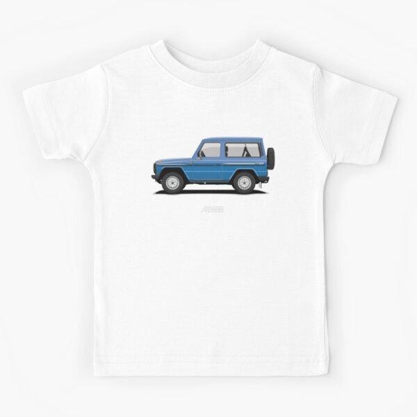 Mercedes 240 GD SWB (W460) Azul Camiseta para niños