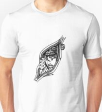 Camiseta ajustada Jojo - Dedos pegajosos (Negro)