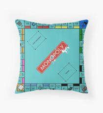 Monopoly Board Throw Pillow