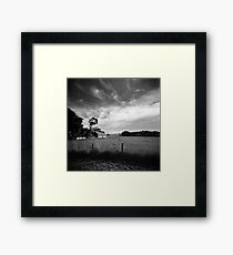 One moment it's paradise, the next it's trying to kill you. Framed Print