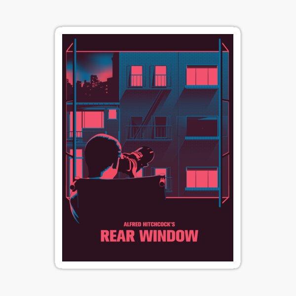 Alfred Hitchcock - Rear Window Sticker