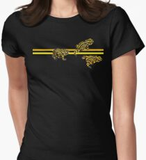 Corroboree frog tee Women's Fitted T-Shirt