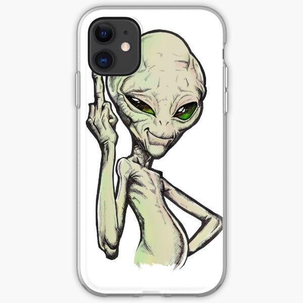Paul the Alien iPhone Soft Case