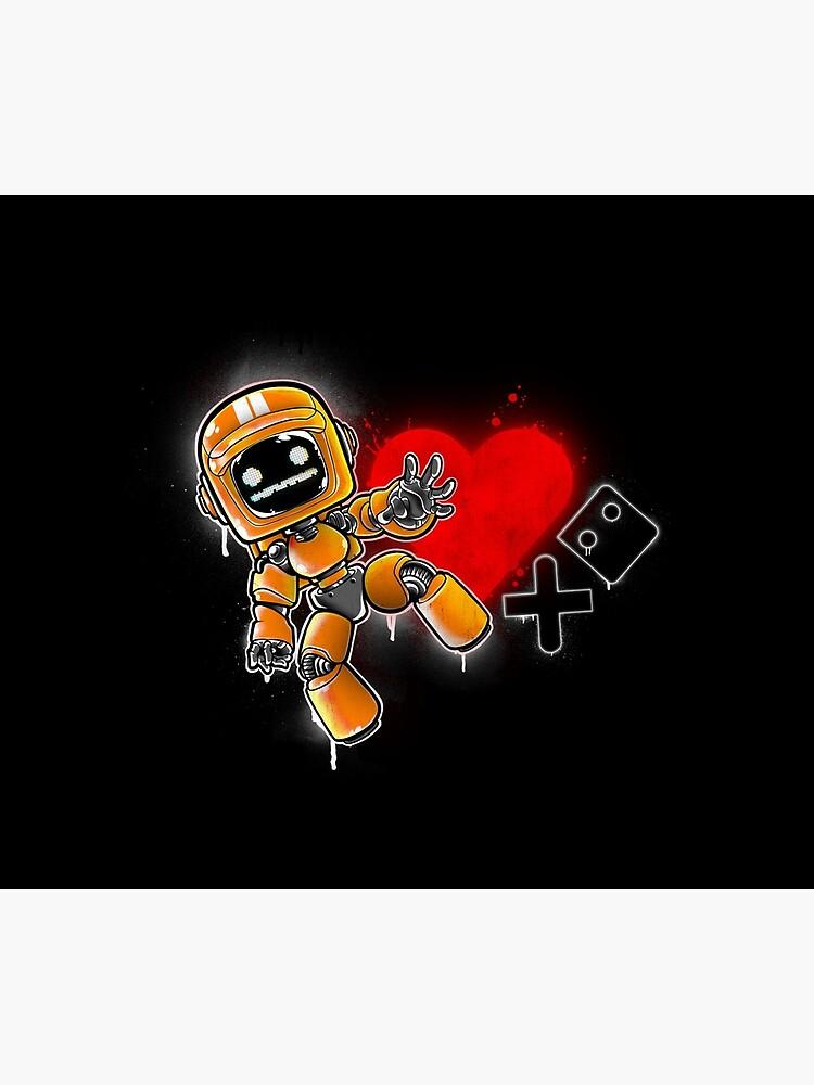 Love Death + Graffiti by Fearcheck