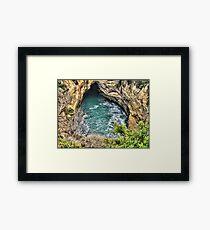 Great Hole Framed Print