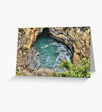 Great Hole Greeting Card