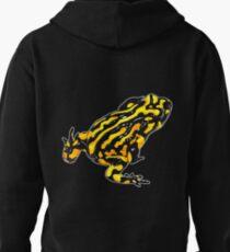 Corroboree frog tee black on black Pullover Hoodie