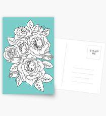 Rose Buds Postcards