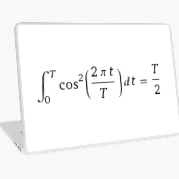 Math, #Integral #Calculus #DefiniteIntegral #Function Laptop Skin