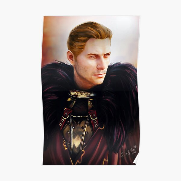 Commander Cullen Poster