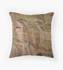Slieve Bloom Sandstone Throw Pillow
