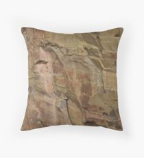 Slieve Bloom Sandstone Throw Pillow