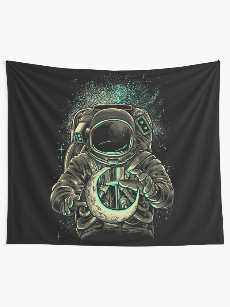 Alternate view of Moon Keeper Tapestry