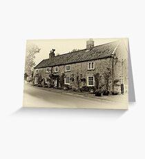 Coxwold Tea Rooms  Greeting Card