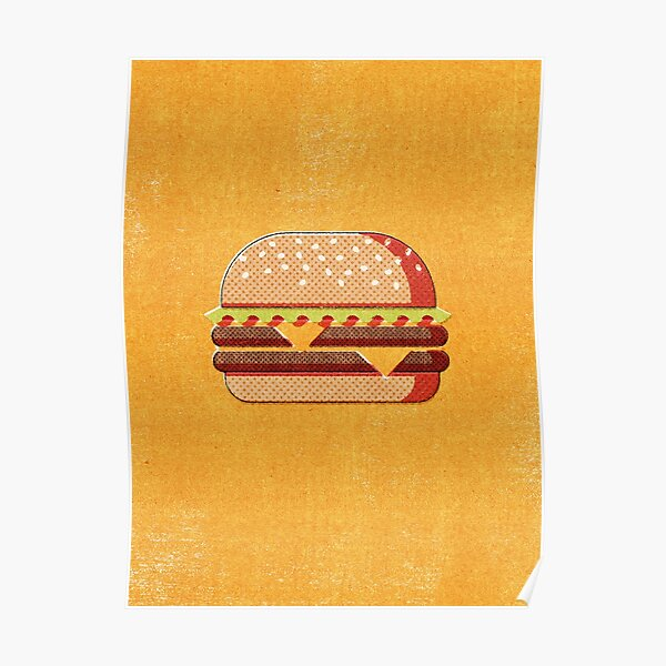 FAST FOOD / Burger Poster
