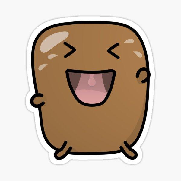 Jagaimo The Potato - Loling! Sticker