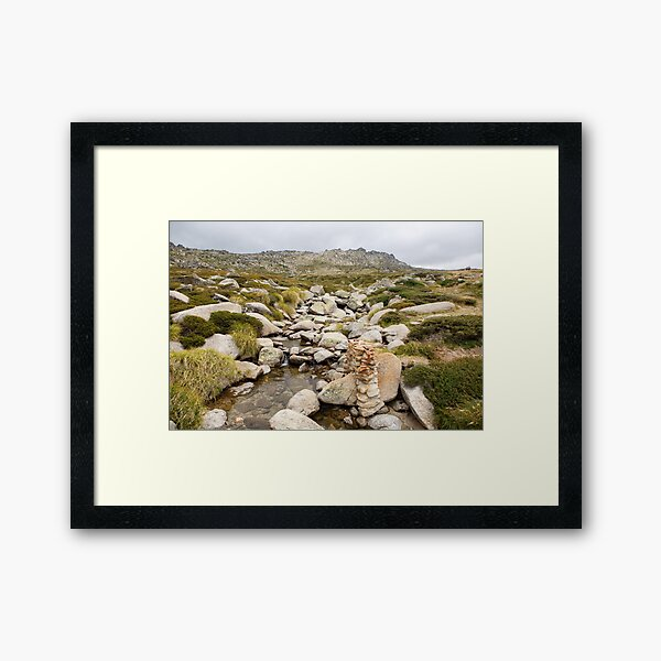 Mount Kosciuszko Summit Walk Framed Art Print