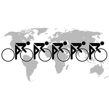 The Bicycle Race 3 Black by learningcurveca