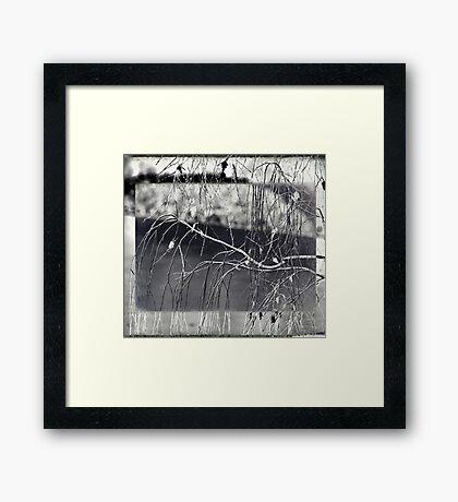 Vulnerable to White Framed Print