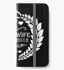 Vinilo o funda para iPhone best wife since 2012 - 7th anniversary gift