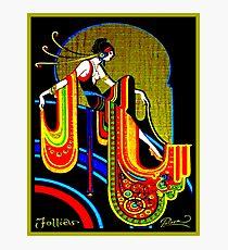 FLAPPER : Vintage 1920 Art Deco Beautiful Print Photographic Print