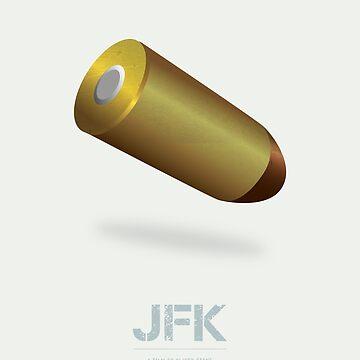 JFK - Alternative Movie Poster by MoviePosterBoy