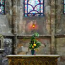 St. Quentin Cathedral - detail, France by Erwin G. Kotzab
