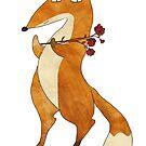 Fox & Flower by CleoLant