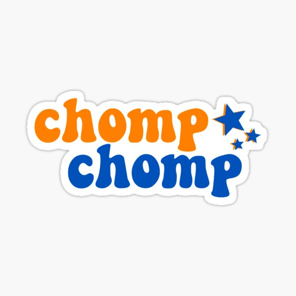 Chomp Chomp Sticker
