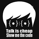 ★ Talk is cheap. Show me the code. | Black Version by cadcamcaefea