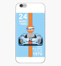 Golf Porsche 917 24 Heures du Mans 1970 Nr.4 iPhone-Hülle & Cover
