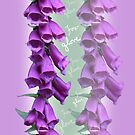 Foxglove Pattern by Slieve Bloom Design