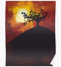 night landscape Poster