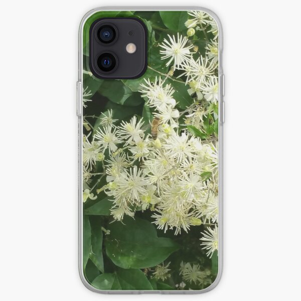 Bee on a flower iPhone Soft Case