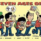 The Seven Ages of Fan by LewStringer
