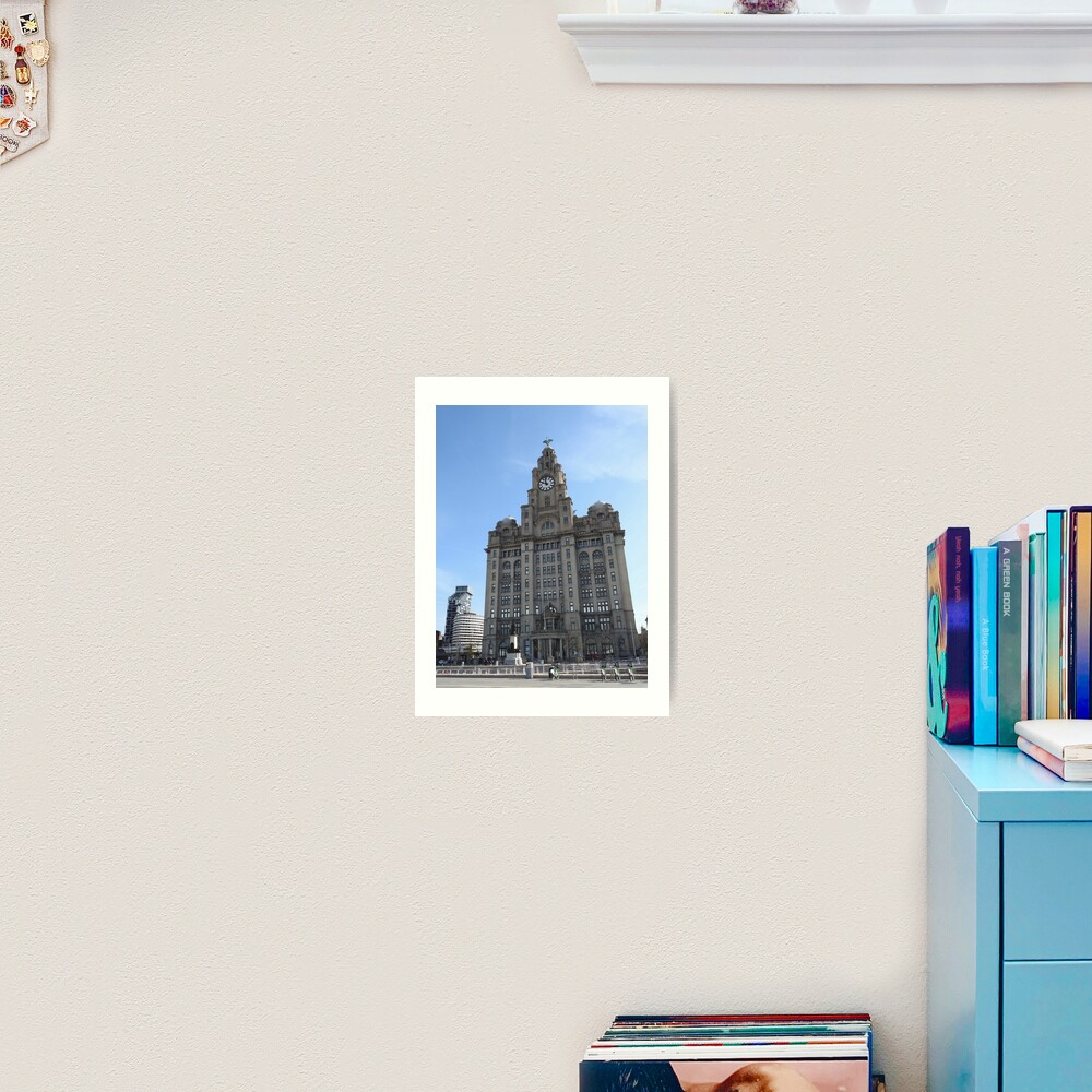 Liverpool Liver Building Photo Art Print